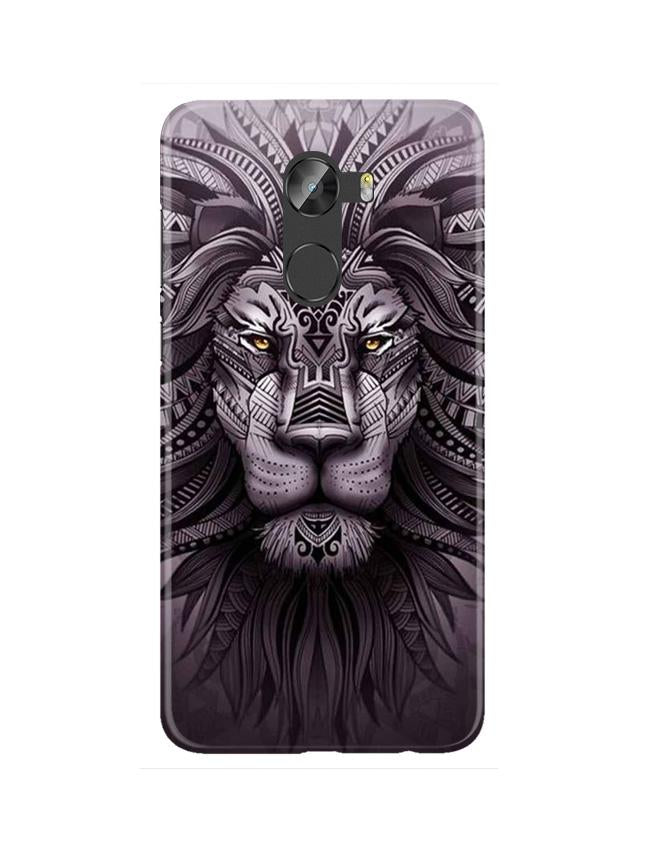 Lion Mobile Back Case for Gionee X1 / X1s (Design - 315)