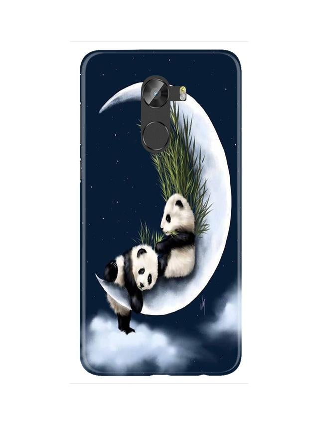 Panda Moon Mobile Back Case for Gionee X1 / X1s (Design - 318)