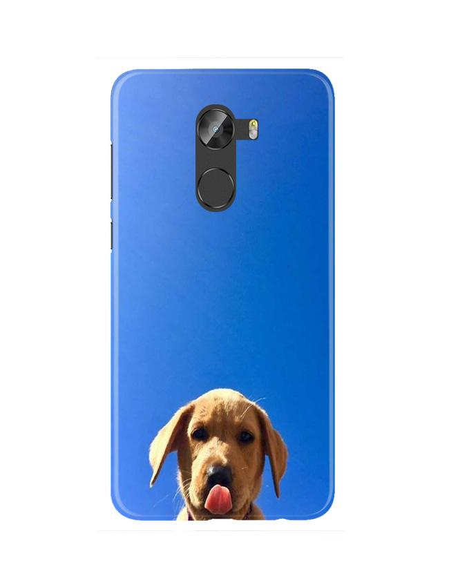 Dog Mobile Back Case for Gionee X1 / X1s (Design - 332)