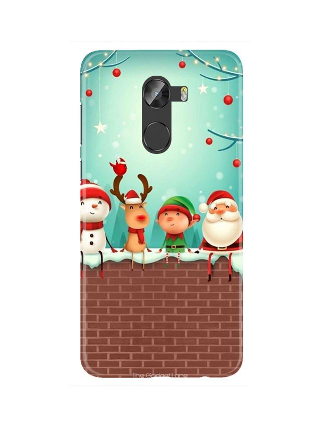 Santa Claus Mobile Back Case for Gionee X1 / X1s (Design - 334)