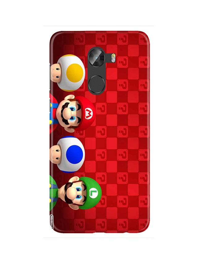 Mario Mobile Back Case for Gionee X1 / X1s (Design - 337)
