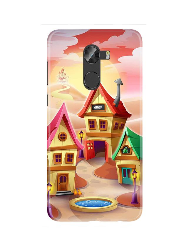 Sweet Home Mobile Back Case for Gionee X1 / X1s (Design - 338)