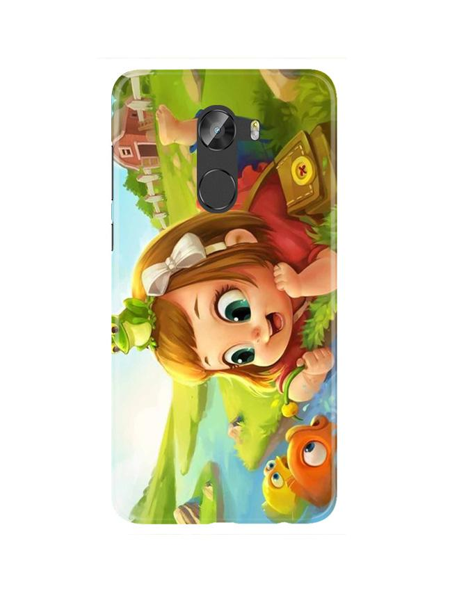 Baby Girl Mobile Back Case for Gionee X1 / X1s (Design - 339)