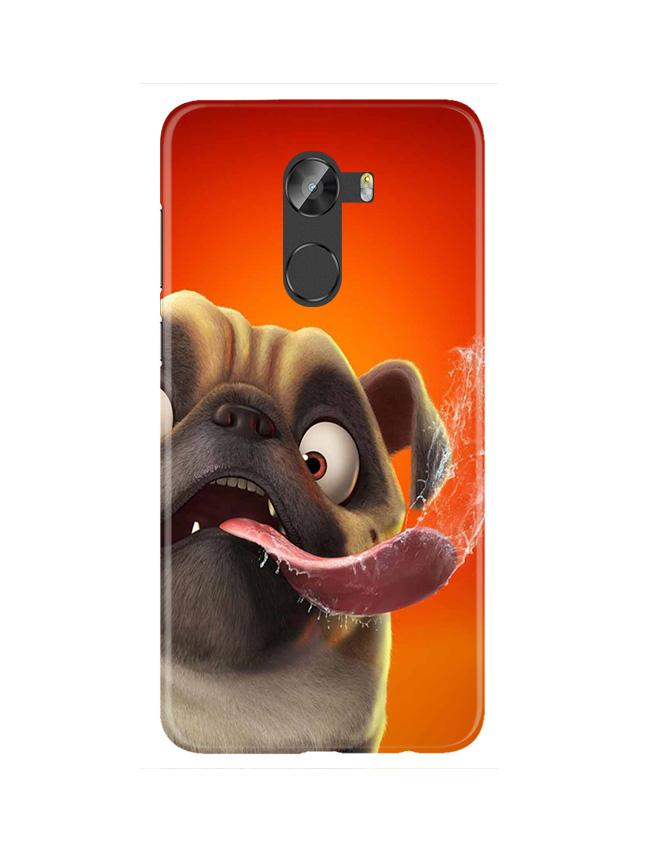 Dog Mobile Back Case for Gionee X1 / X1s (Design - 343)