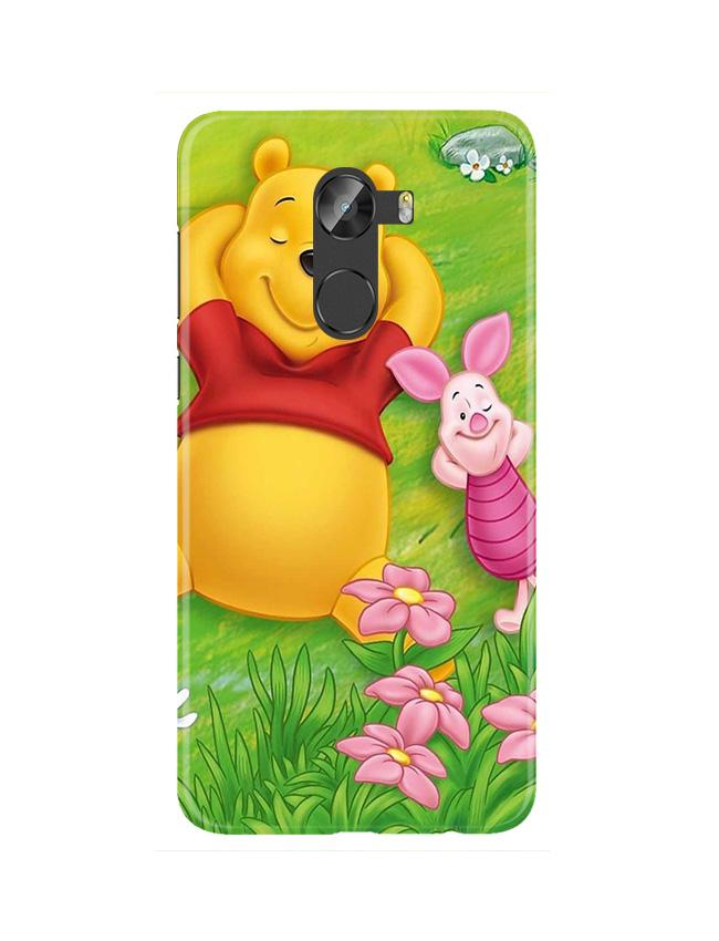 Winnie The Pooh Mobile Back Case for Gionee X1 / X1s (Design - 348)