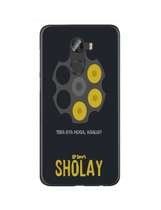 Sholay Mobile Back Case for Gionee X1 / X1s (Design - 356)