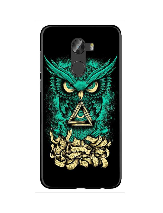Owl Mobile Back Case for Gionee X1 / X1s (Design - 358)