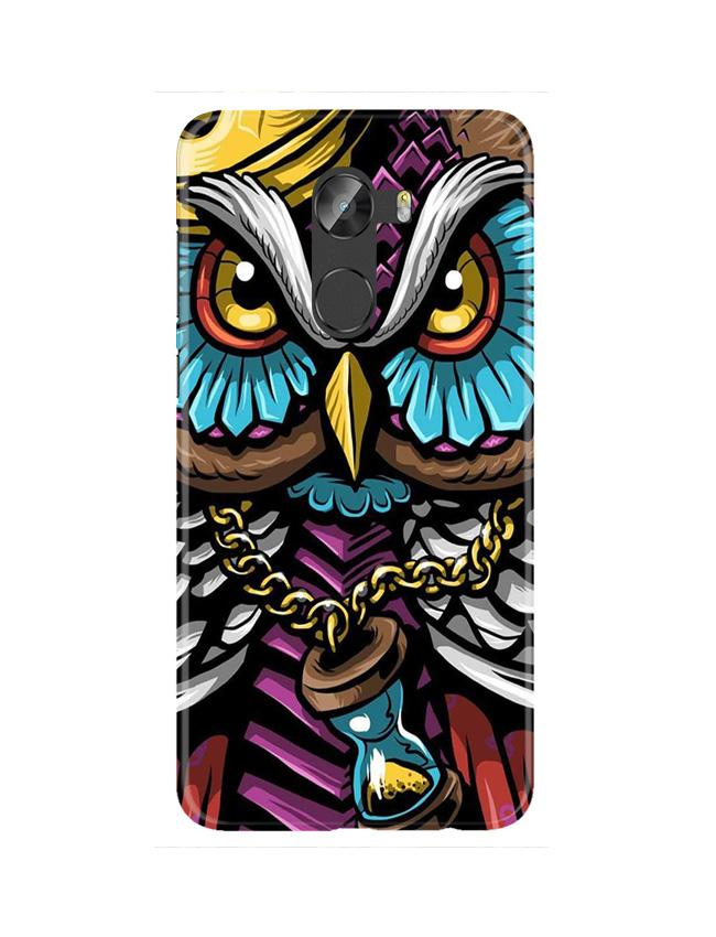Owl Mobile Back Case for Gionee X1 / X1s (Design - 359)