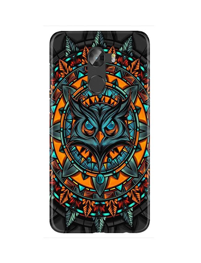 Owl Mobile Back Case for Gionee X1 / X1s (Design - 360)