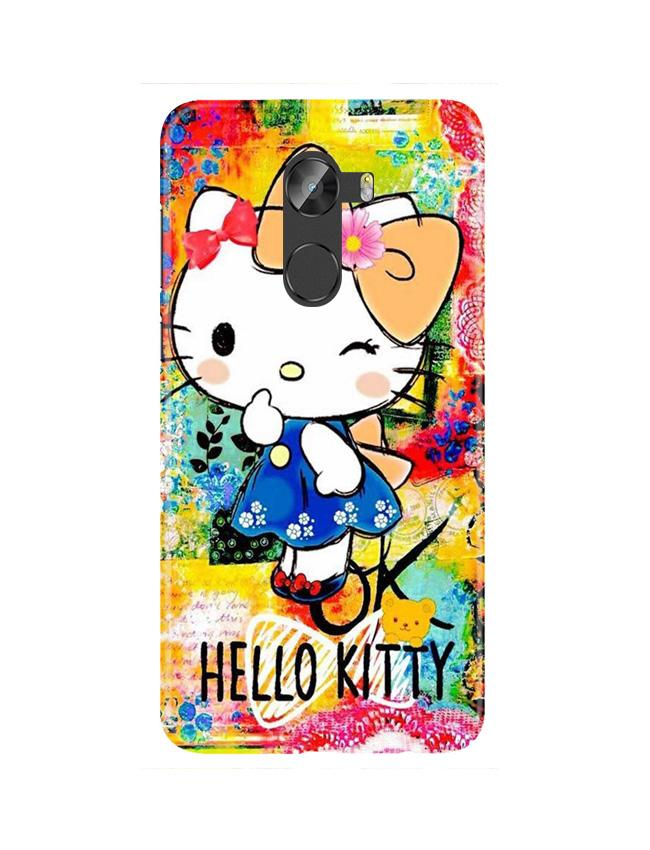 Hello Kitty Mobile Back Case for Gionee X1 / X1s (Design - 362)