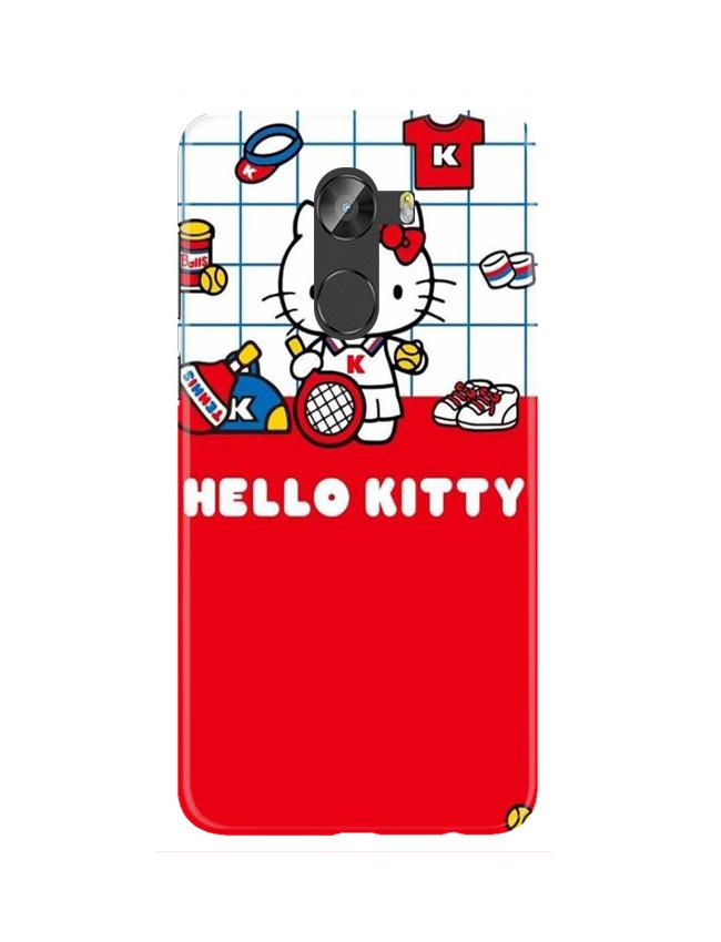 Hello Kitty Mobile Back Case for Gionee X1 / X1s (Design - 363)