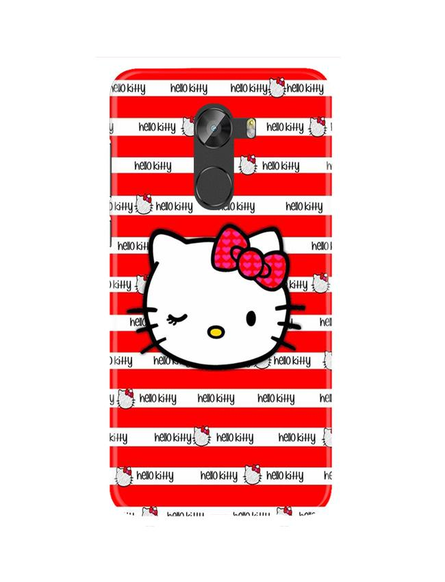 Hello Kitty Mobile Back Case for Gionee X1 / X1s (Design - 364)