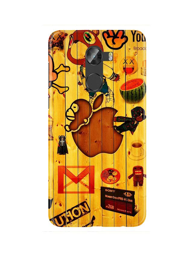 Wooden Texture Mobile Back Case for Gionee X1 / X1s (Design - 367)