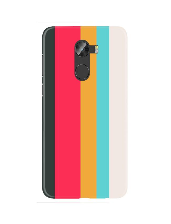 Color Pattern Mobile Back Case for Gionee X1 / X1s (Design - 369)