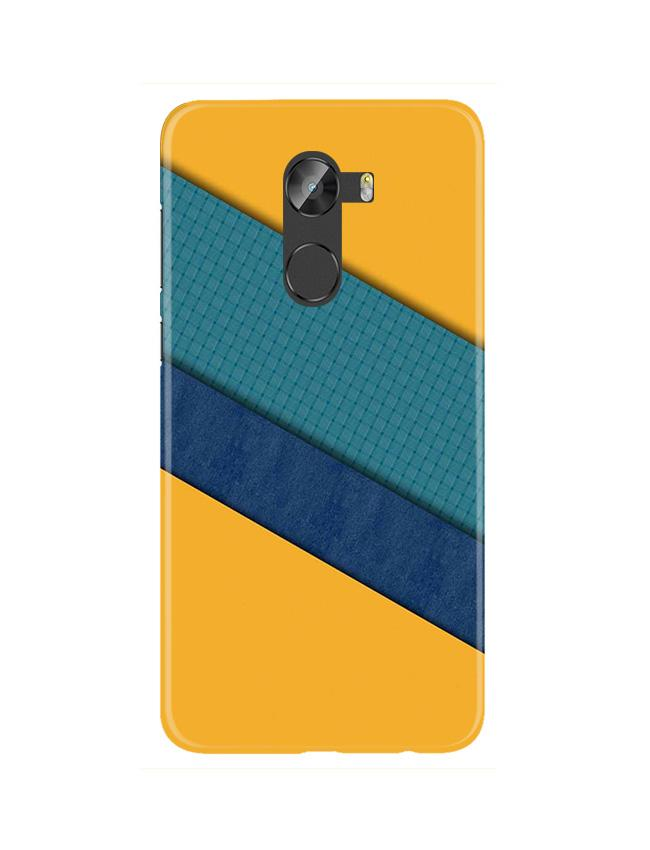 Diagonal Pattern Mobile Back Case for Gionee X1 / X1s (Design - 370)
