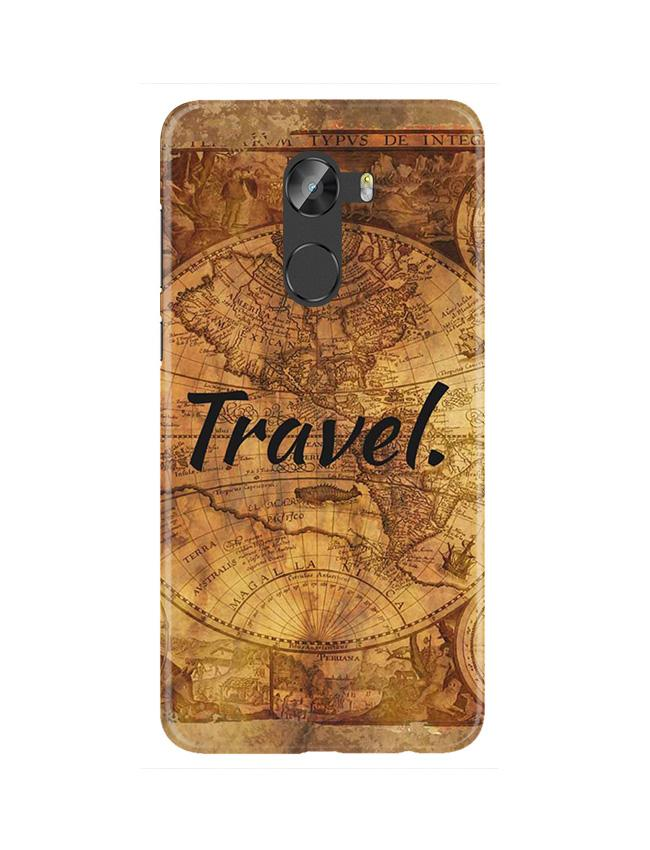 Travel Mobile Back Case for Gionee X1 / X1s (Design - 375)