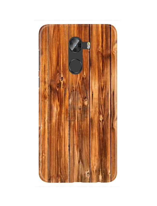 Wooden Texture Mobile Back Case for Gionee X1 / X1s (Design - 376)