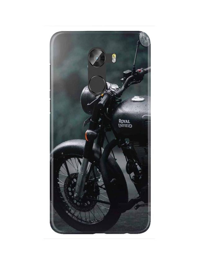 Royal Enfield Mobile Back Case for Gionee X1 / X1s (Design - 380)