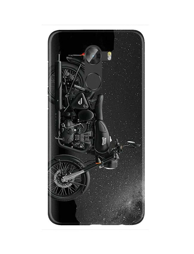Royal Enfield Mobile Back Case for Gionee X1 / X1s (Design - 381)