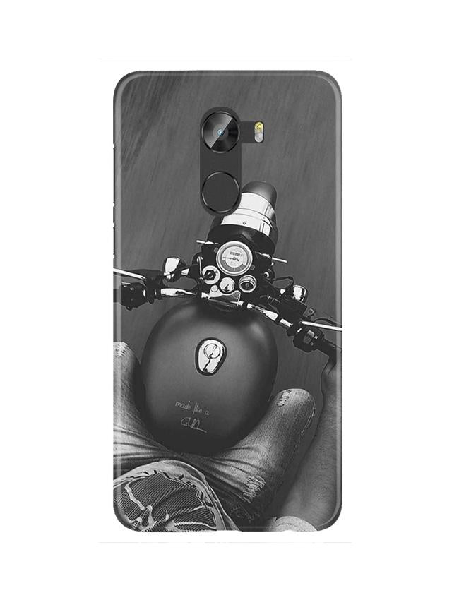 Royal Enfield Mobile Back Case for Gionee X1 / X1s (Design - 382)
