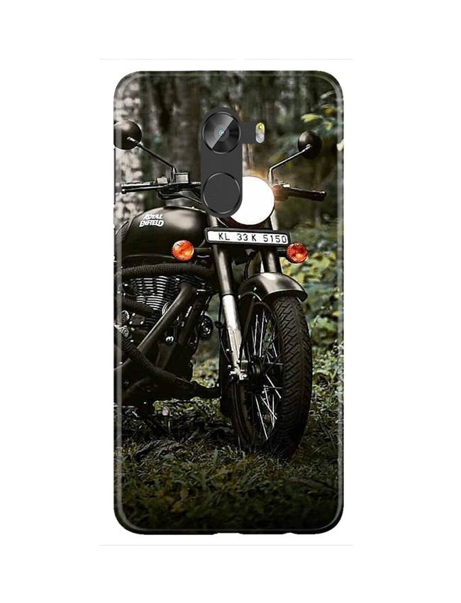 Royal Enfield Mobile Back Case for Gionee X1 / X1s (Design - 384)