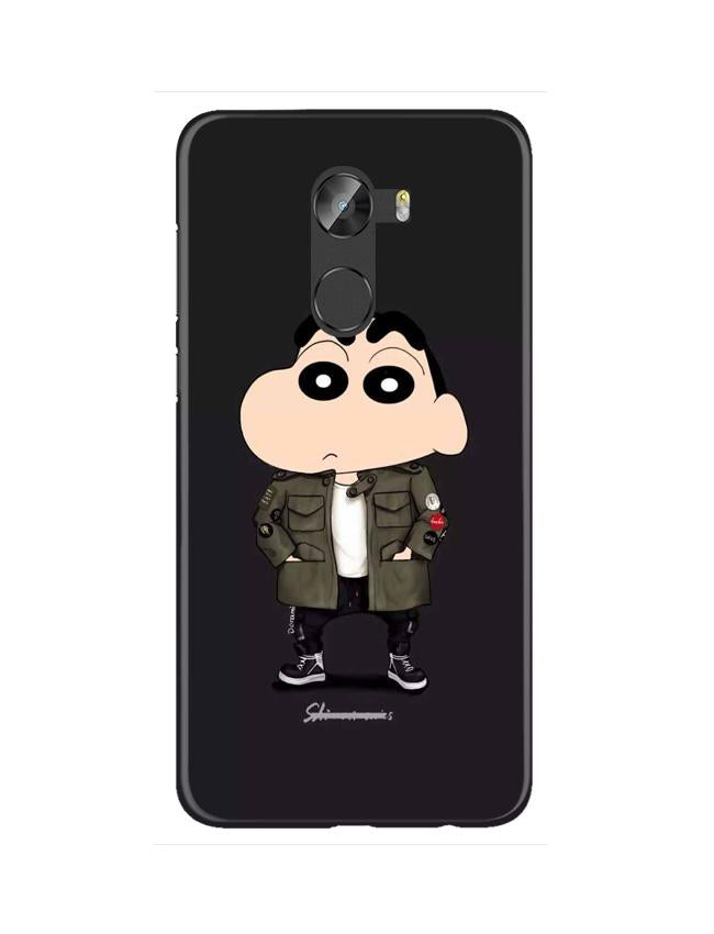 Shin Chan Mobile Back Case for Gionee X1 / X1s (Design - 391)