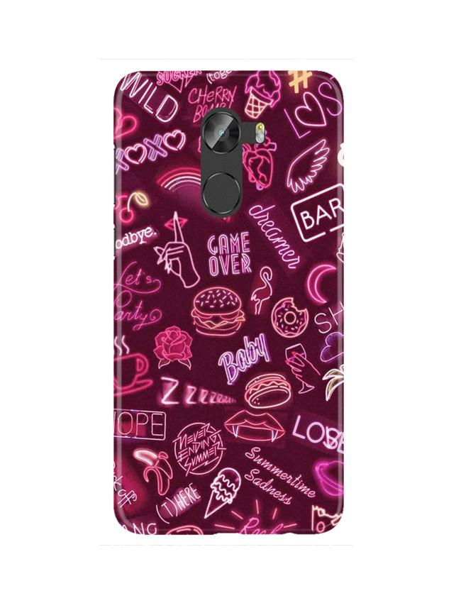 Party Theme Mobile Back Case for Gionee X1 / X1s (Design - 392)