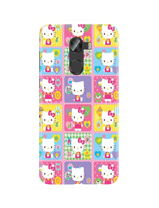 Kitty Mobile Back Case for Gionee X1 / X1s (Design - 400)