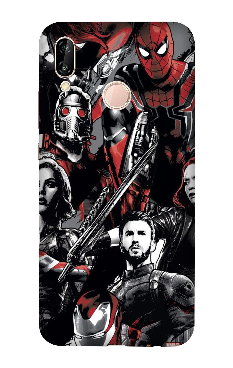Avengers Case for Vivo X21 (Design - 190)