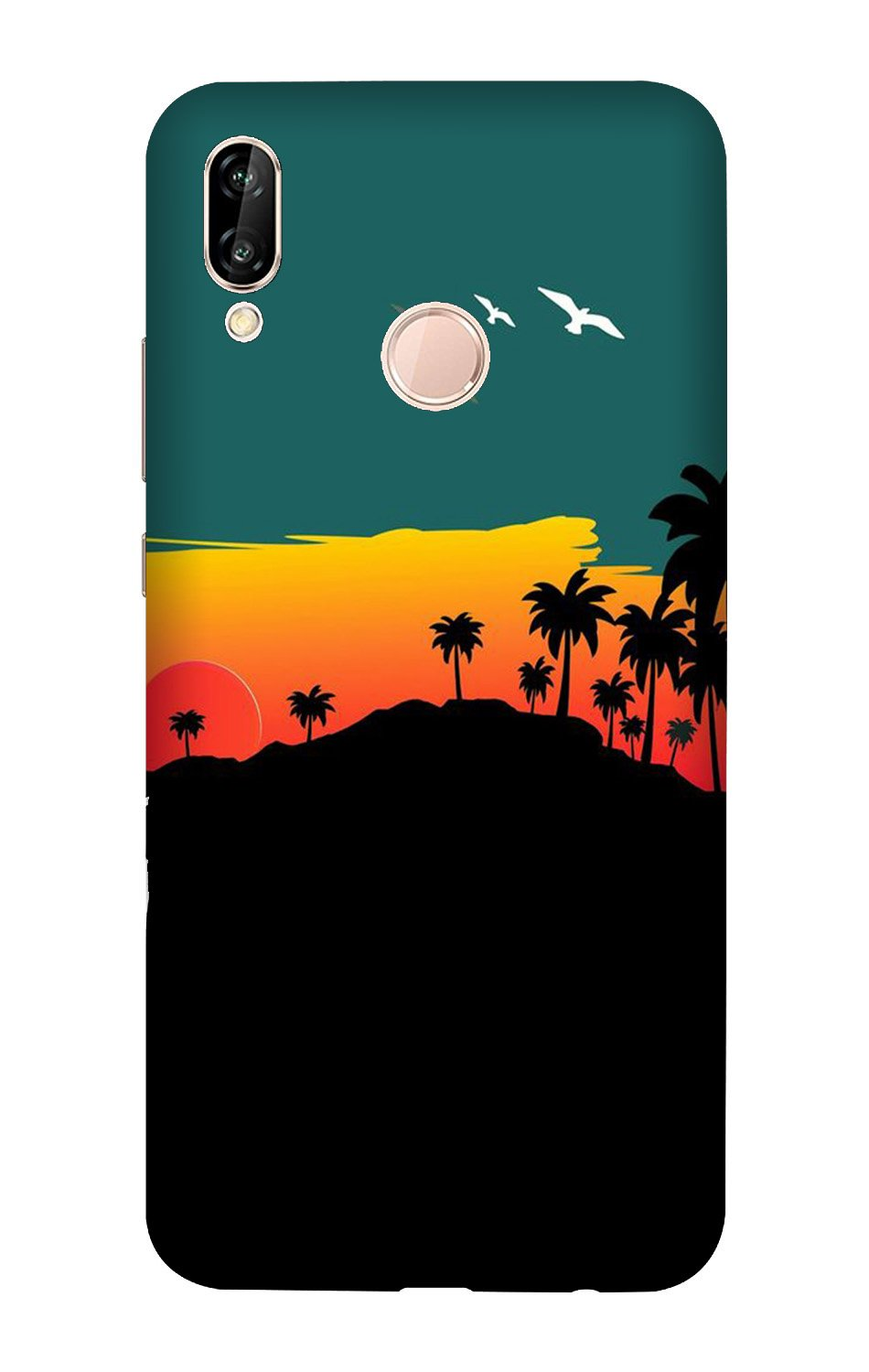 Sky Trees Case for Vivo X21 (Design - 191)