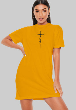 Faith T-Shirt Dress