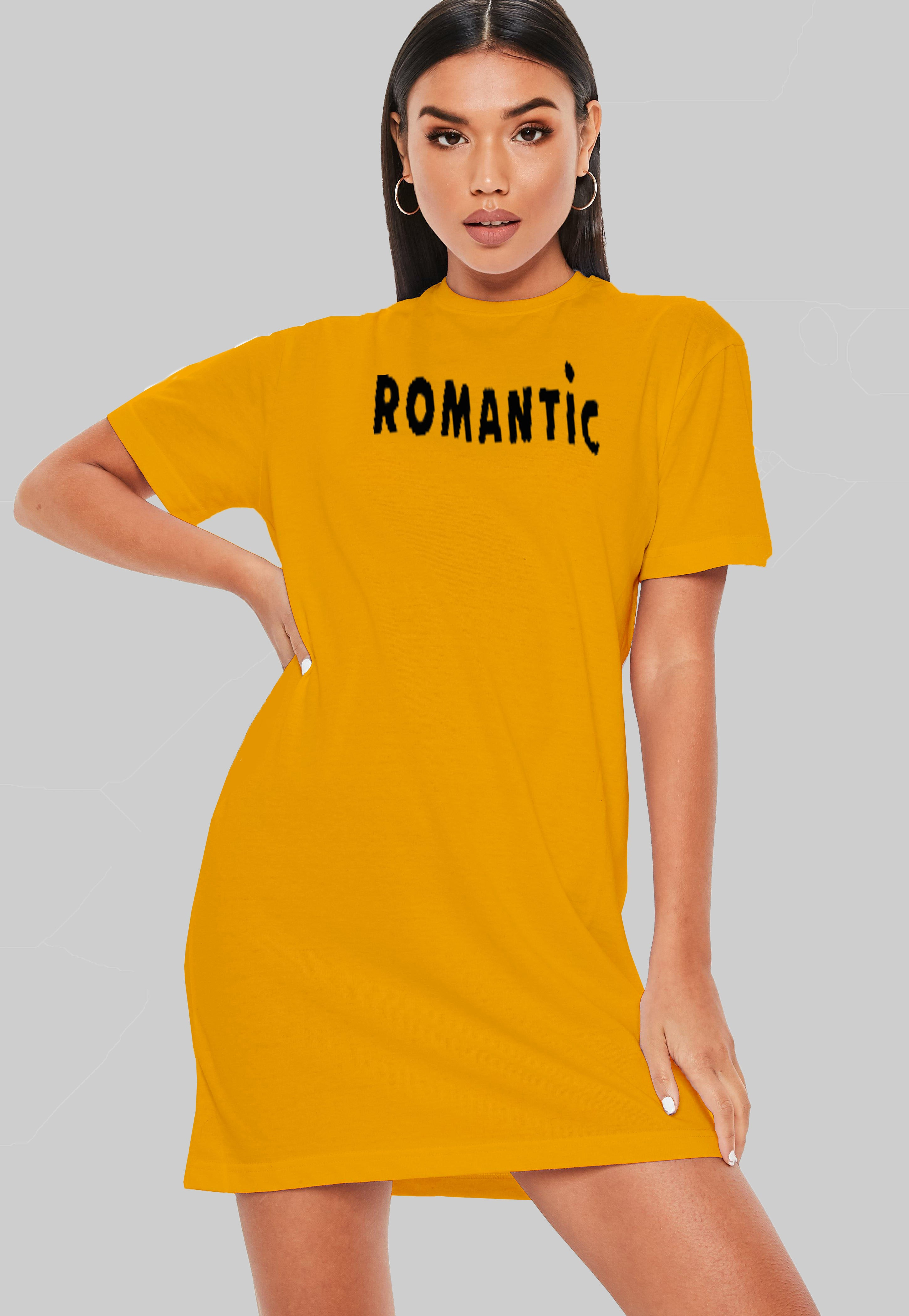 Romantic T-Shirt Dress