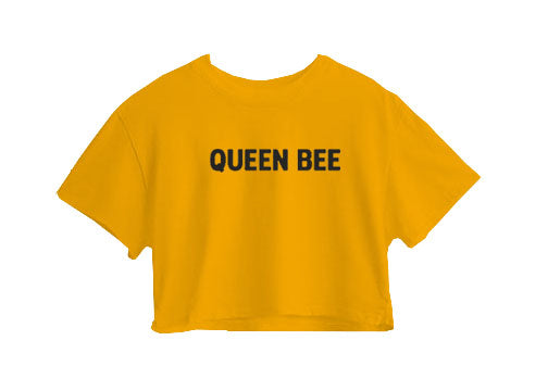 Queen Bee Crop Top