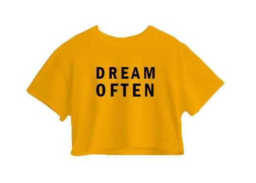 Dream Often Crop Top
