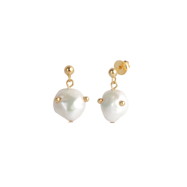 Aretes Salted Pearl