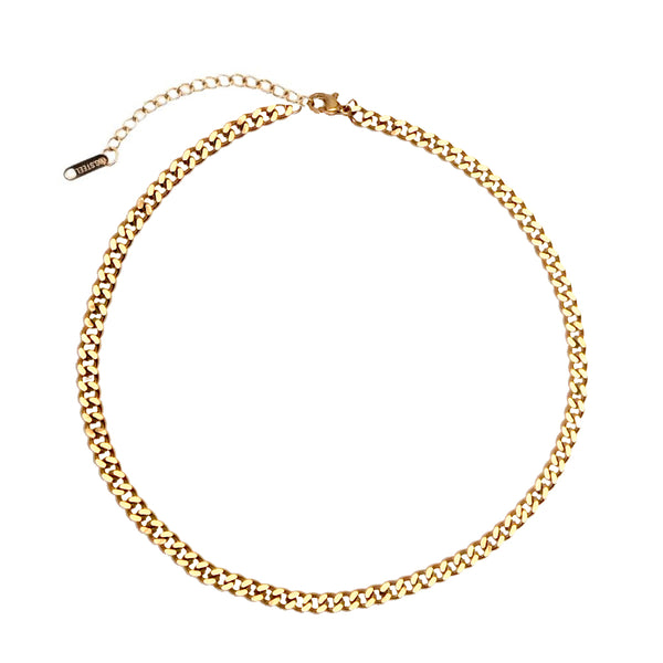 Collar Curb Chain