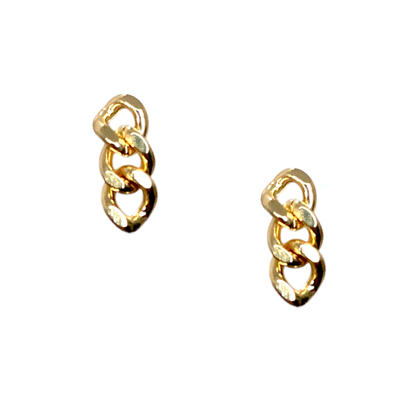 Aretes Mini Curb Chain