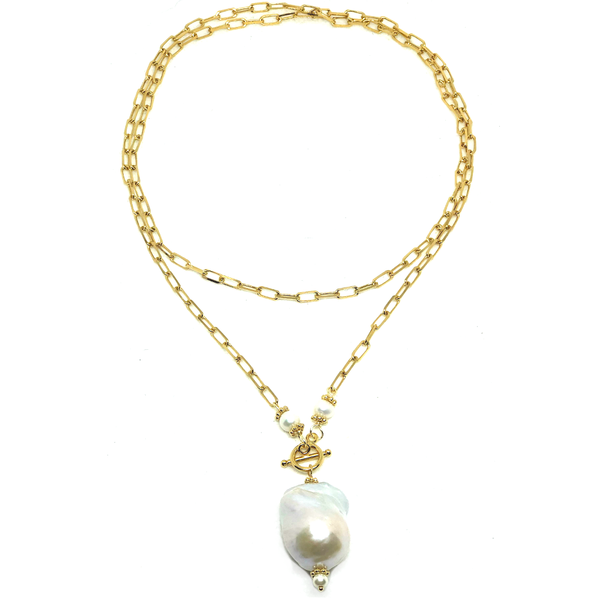 Prestige Pearl Necklace-Baroque Edition