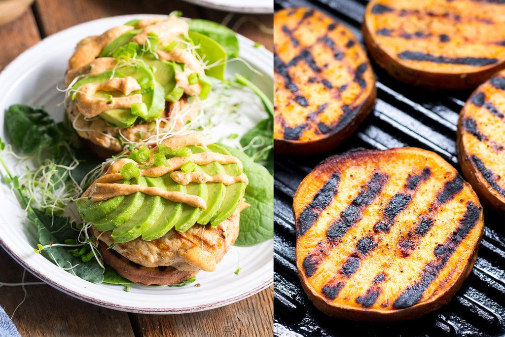 Chipotle Chicken Burgers (Paleo & Whole30)