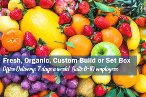 Classic Office Fruit Box, Organic (Large) **PRE-ORDER REQUIRES 1 DAYS NOTICE**