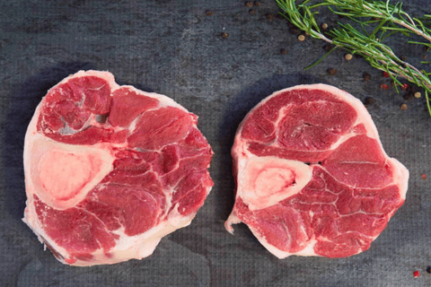 Beef Osso Bucco (Certified Organic, Grass-Fed, Grass Finished) - 450g **PRE-ORDER REQUIRES 1 BUSINESS DAYS NOTICE**