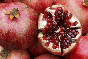 Pomegranate (350g), Australian Grown, Certified Organic **REQUIRES 1 DAYS BUSINESS NOTICE**