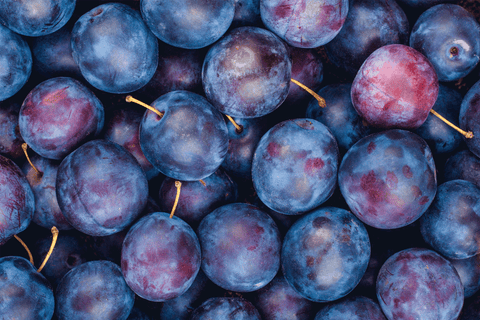 Plums (Baby Sugar) Australian Organic (approx 20g) **PRE-ORDER REQUIRES 1 DAYS NOTICE** OUT OF SEASON **