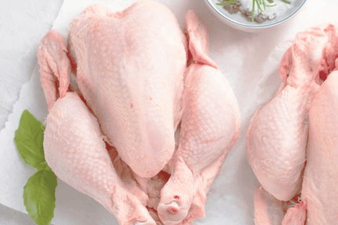 Whole Chicken (Free Range) 1kg + 1.5kg **PRE-ORDER REQUIRES 1 BUSINESS DAYS NOTICE**