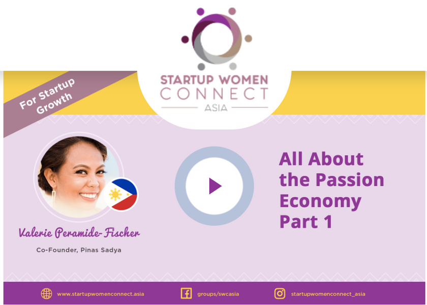 Startup Women Connect Asia features Pinas-Sadya