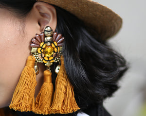 Amatheia Caramel Earrings