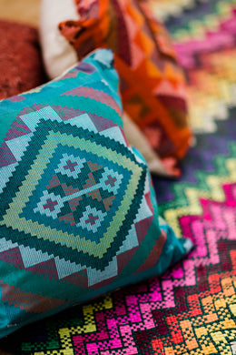 Yakan Throw Pillow Cases - Various Colors