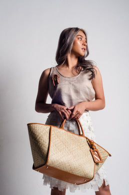 Happy Weekend Bag (Brown)