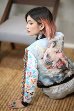 Load image into Gallery viewer, Hand Embroidered Lumban Bomber Jacket