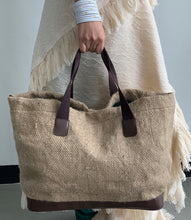 Load image into Gallery viewer, Sako Coffee Sack Market and Beach Tote Bag